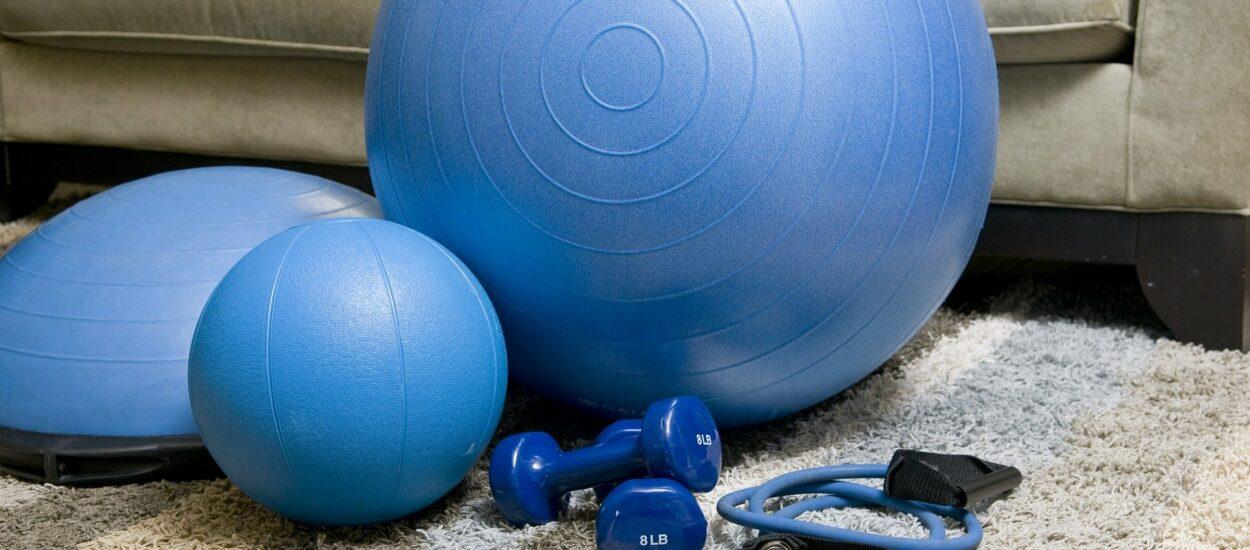 8 ćwiczeń, które można wykonywać w domu